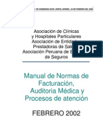Normas de Fact.asociacion de Clinicas