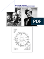 Billie Holiday Profile (Astrological Review)