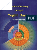 Yogini Dasha Predicting