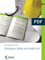 Guide to the Workplace Safety and Health Act 2006