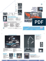 8 Pages Brochure Confident Dental Chair Catalogue