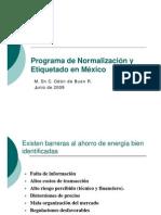 3 - O de Buen - Programa de N&E en Mexico