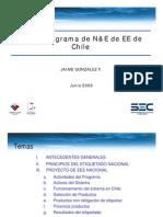 4B - J Gonzalez - Programa de N&E de EE de Chile