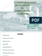 high performance building in composite climate