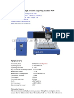 CM-C3030 Engraving and Cutting Machine With a Water Tank