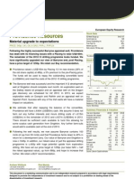 Providence Resources - Material Upgrade to Expectations