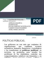 políticas Públicas para las acciones del buen gobierno