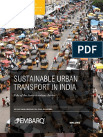 EMBARQ 2011 Sustainable Urban Transport India