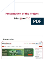Presentation of the Project Educ@contic [EN] #1