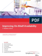Improving On-Shelf Availability