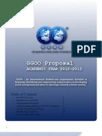 GGOO Proposal