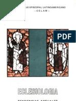 Celam - Eclesiologia - Tendencias Actuales