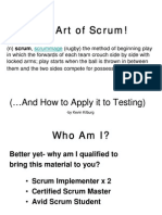 27538247 the Art of Scrum