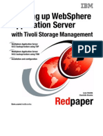 Backing Up WebSphere Application Server With Tivoli Storage Management Redp0149