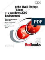 Deploying the Tivoli Storage Manager Client in a Windows 2000 Environment Sg246141