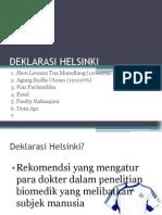 Presentasi Deklarasi Helsinki 2007