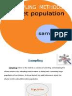 Sampling Methods Ppt