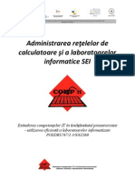 Manual Curs 1 - Administrarea Retelelor de Calculatoare Si a or In Format Ice SEI V2