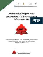 Manual Curs 1 - Administrarea Retelelor de Calculatoare Si a or In Format Ice SEI V2