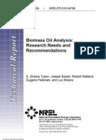 13 01 Biomass Oil