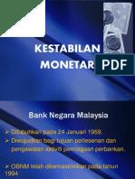 Pasaran Wang Dan Modal- Kestabilan Monetari