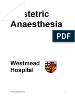 Westmead Obstetric Anaesthe