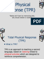 Total Physical Response (TPR) - 2
