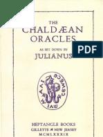 Julianus, The Chaldaean Oracles