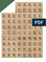 English Activity Scrabble Game