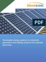 Solarking Brochure