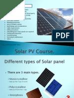 Solar PV Course