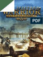 Manual Full Spectrum Warriors
