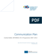 2 Communication Plan of the Programme