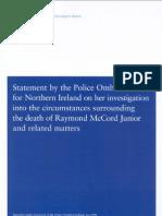 Police Ombudsman Ballast Report