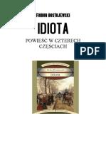 Fiodor Dostojewski - Idiota