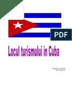 Locul Turismului in Cuba