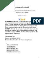 AP Valencia 27-6-2011 - Polizas a Son Ejecutables Aunque No Se Entregase Aval Individual