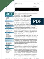 noticia jornal valor - fluxograma pagamento acesso internet