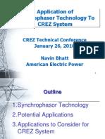 3Bhatt Synchrophasor Presentation to ERCOT 012610