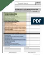 formato para evaluar desempeño laboral