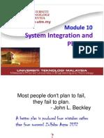 Module 10 System Integration and Planning for Student v3