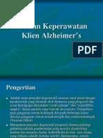Askep Alzheimer's