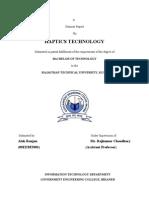 HAPTICS Seminar Report