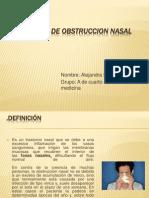 Miranda Alejandra (Patologia de Obstruccion Nasal) A