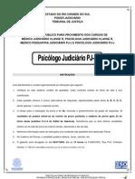 Psicologo Judiciario PJ-J 2009