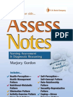 Assess Notes Nursing Assessment & Diagnostic Reasoning