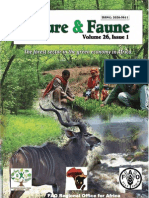 Nature and Faune Publication Vol. 26, Issue 1- Forest Sector in the Green Economy in Africa -