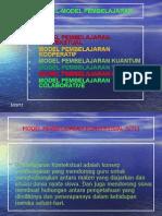 Model Model Pembelajaran1