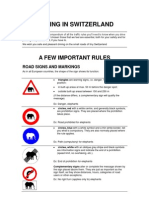 A Few Important Rules - 2009