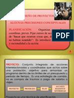 4 DISEÑO DE PROYECTOS EDUCATIVOS Y DE AULA